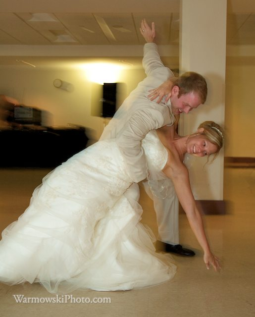 Jessie & Tim had an impressive finale. Copyright Warmowski Photography