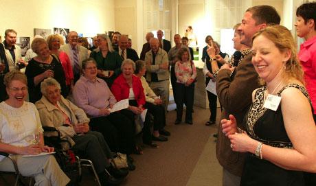Strawn Art Gallery, artist talk
