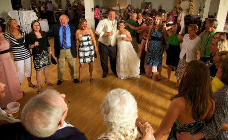 Family dances at Lonergan wedding