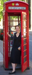 English telephone booth London