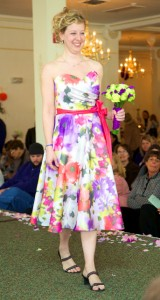 Tiffany Hermon Warmowski models bridesmaid dress, Warmowski Photography