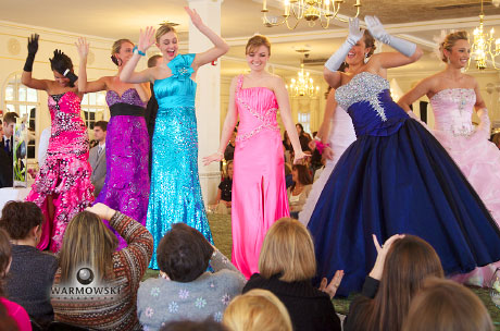 Prom style show by Girls in White Satin Bridal & Formal Wear. WarmowskiPhotography.com
