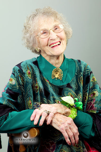 Eileen Smith Cunningham turned 90. WarmowskiPhotography.com