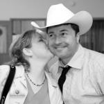 Tiffany kisses Steve Warmowski