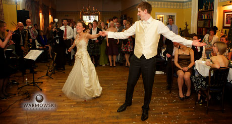 Carolyn & Daniel's first dance at the Old Hall Hotel, Buxton. Warmowskiphoto.com
