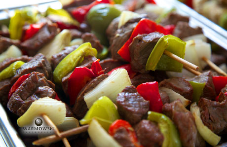 Beef shish kebobs, warmowskiphotography.com