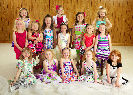 2011 Little Miss Morgan County contestants (http://www.WarmowskiPhotography.com)