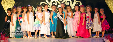 Morgan County Fair 2011 Pageant - princess contestants.