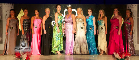 Morgan County Fair 2011 Pageant - queen contestants.