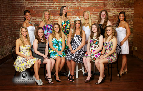 2011 Morgan County Fair Queen contestants (http://www.WarmowskiPhotography.com )