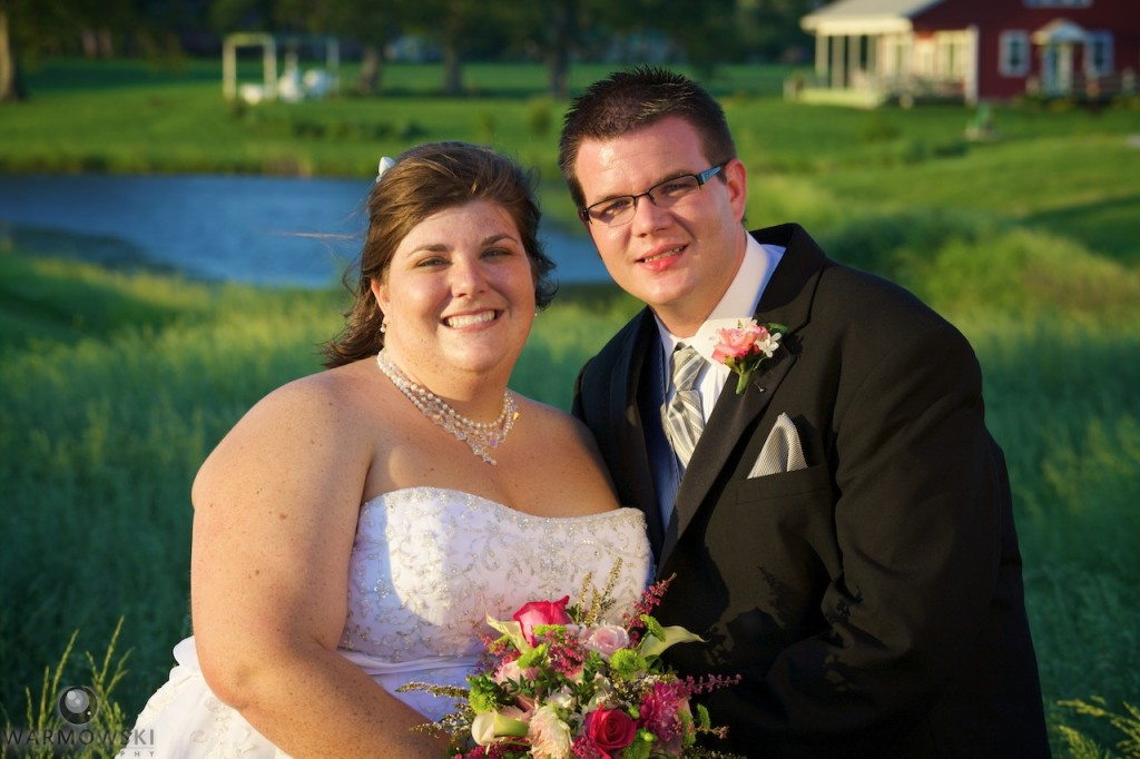 Stephanie & James were married in the banquet hall at Buena Vista. She saw flames while driving past on US 67, and reported the fire.