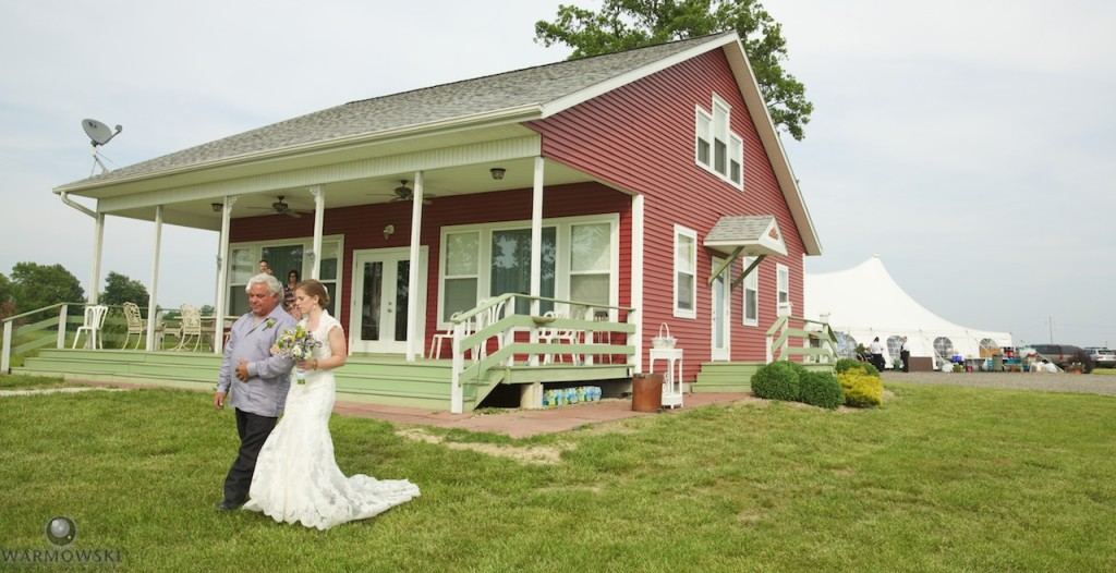 Ashlee & Justin's wedding at Buena Vista Farms. The outdoor wedding venue is unaffected by the fire.