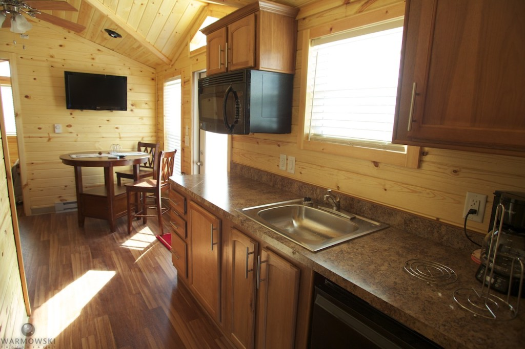 Buena Vista Resort, part of Buena Vista Farms, offers full-service cabins on site.