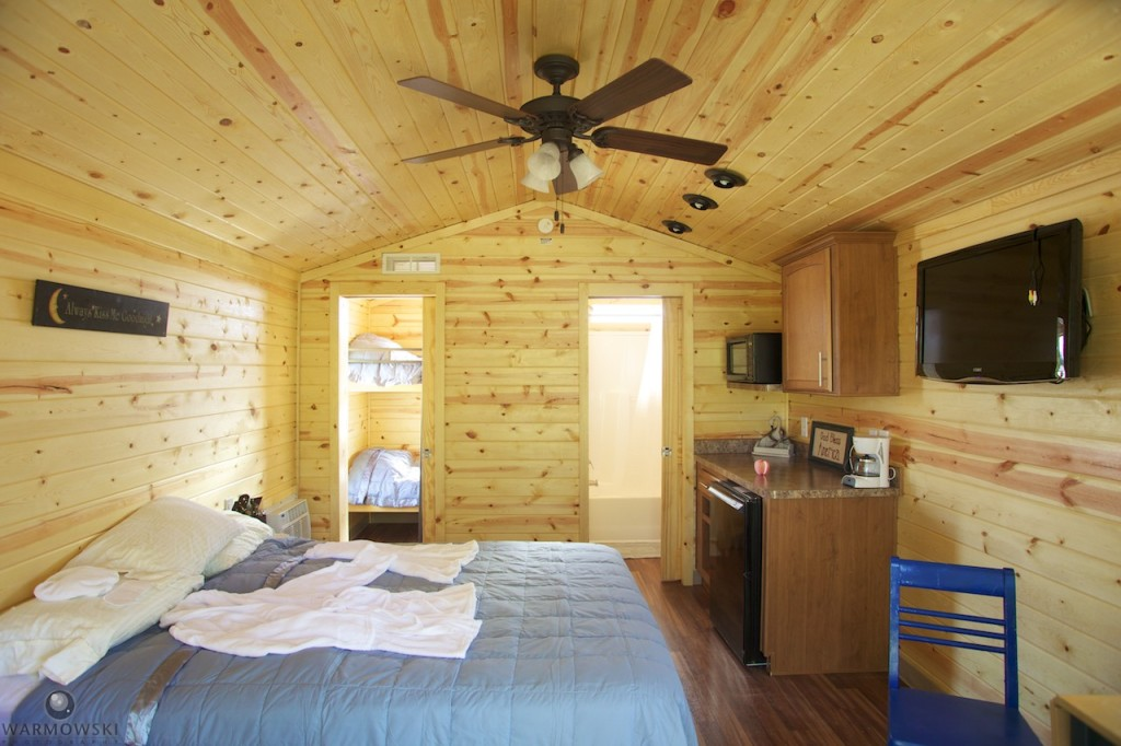 With the cabins, brides and grooms can even stay at the resort on their wedding night, or hold bachelor/bachelorette parties, or rehearsal parties.