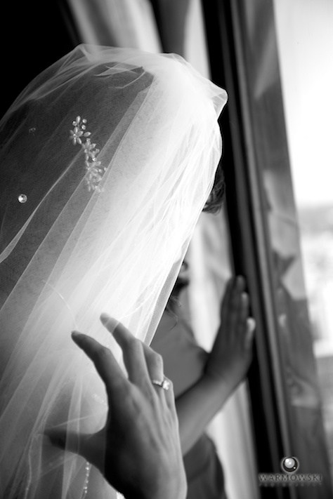 Veil detail - Rushita & Benjamin (by Warmowski Photography)