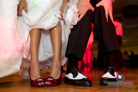 Shoes detail - Rushita & Benjamin (by Warmowski Photography)