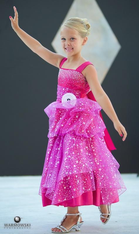 2014 Princess Addyson James in dress.