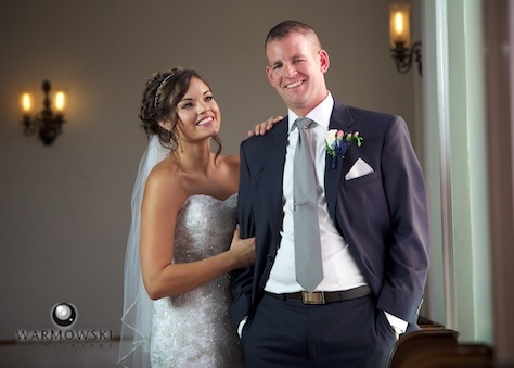 Adria and Jeremy, wedding at MacMurray College's Annie Merner Chapel. Wedding photography by Steve & Tiffany Warmowski.