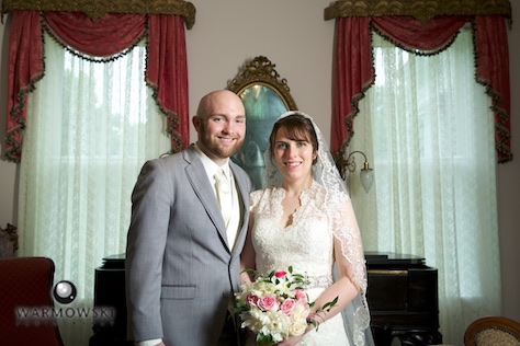 Meredith and Josiah portraits at Gov. Duncan Mansion.