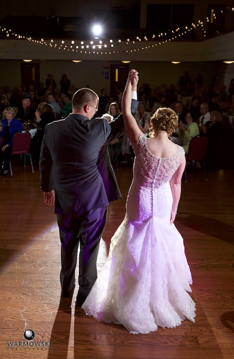 Amy Ryan Recognize Applause At The End Of Their First Dance Wedding Reception