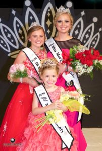 Taylor Zoerner was named Queen, Olivia Haverfield was named Princess and Kaylee Ford was named Junior Miss Tuesday night at the Morgan County Fair Pageant.